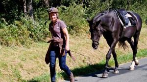 Promenades à cheval dans la Montagne Noire