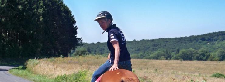 Sophie Sagot, entraîneur et éleveur de chevaux