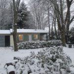 Gîte en hiver Montagne Noire