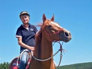 Sophie SAGOT, éleveur et entraîneur de chevaux.